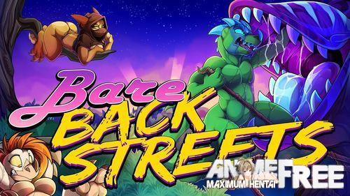 Картинка Bare Backstreets [2019] [Uncen] [Platformer, Side-scroller] [ENG] H-Game