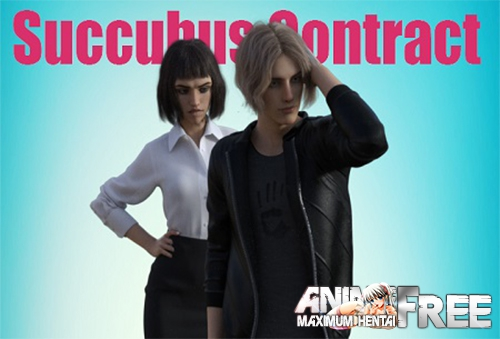 Картинка Контракт с суккубом / Succubus Contract [2019] [Uncen] [ADV, 3DCG] [Android Compatible] [RUS,ENG] H-Game