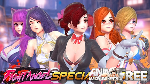 Картинка Fight Angel Special Edition [2019] [Uncen] [3D-Fighting] [ENG,JAP,CHI,KOR] H-Game