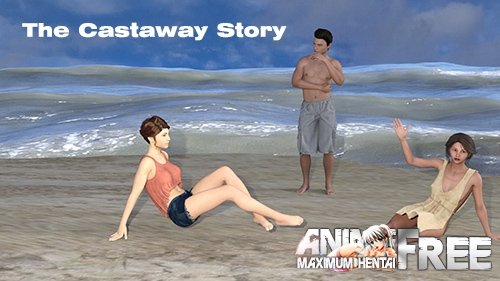 Картинка The Castaway Story [2019] [Uncen] [ADV, 3DCG] [Android Compatible] [ENG] H-Game
