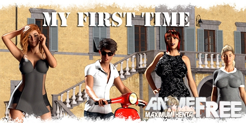 Картинка My First Time [2020] [Uncen] [ADV, 3DCG] [Android Compatible] [ENG] H-Game