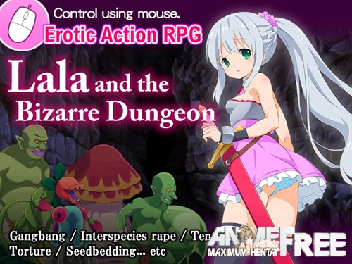 Картинка Lala and the Bizarre Dungeon [2019] [Cen] [SLG, Action, Fighting] [JAP,ENG] H-Game
