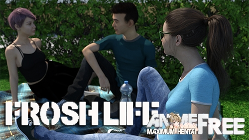 Картинка Frosh Life [2020] [Uncen] [ADV, 3DCG, Dating-sim] [ENG] H-Game