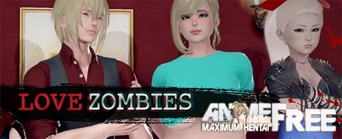 Картинка Love Zombies [2020] [Uncen] [ADV, 3DCG, Animation] [Android Compatible] [ENG] H-Game