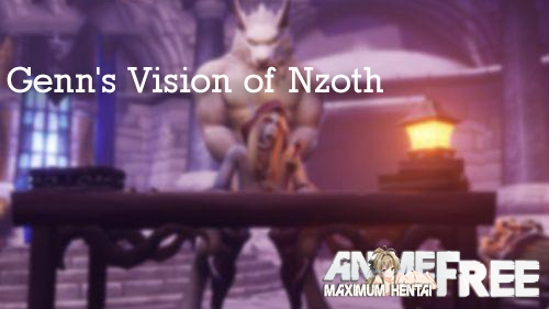 Картинка Genn's Vision of Nzoth [2020] [Uncen] [3DCG, Animation, Virtual Reality] [ENG] H-Game