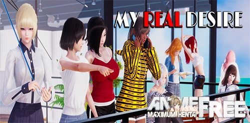 Картинка My Real Desire [2020] [Uncen] [ADV, 3DCG] [Android Compatible] [ENG,RUS] H-Game