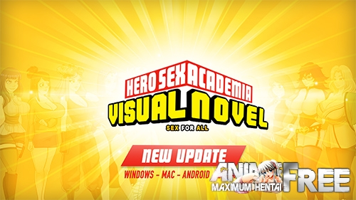 Картинка Hero Sex Academia [2020] [Uncen] [ADV, Animation] [Android Compatible] [ENG] H-Game
