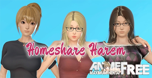 Картинка Homeshare Harem [2020] [Uncen] [ADV, 3DCG, Animation] [Android Compatible] [ENG] H-Game