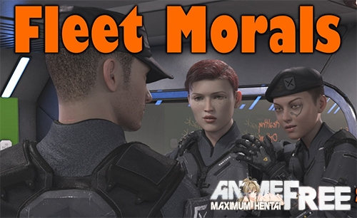 Картинка Fleet Morals [2020] [Uncen] [ADV, 3DCG] [Android Compatible] [ENG] H-Game