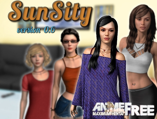 Картинка SunSity [2020] [Uncen] [ADV, 3DCG] [ENG] H-Game
