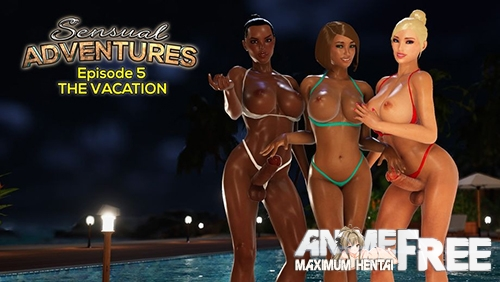 Картинка Sensual Adventures Episode 5: The Vacation (Night Version) [2020] [Uncen] [HD-1080p] [ENG] 3D-Hentai