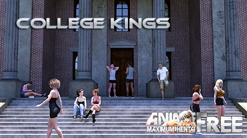 Картинка Короли Колледжа / College Kings [2020] [Uncen] [ADV, 3DCG, Animation] [Android Compatible] [ENG,RUS] H-Game