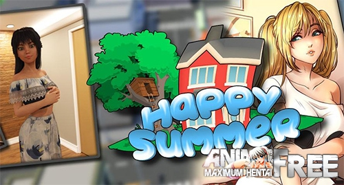 Картинка Happy Summer / Счастливое лето [2019] [Uncen] [ADV, 3DCG] [Android Compatible] [ENG,RUS] H-Game