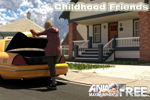 Картинка Childhood Friends [2019] [Uncen] [3DCG, NTR] [Android Compatible] [ENG,RUS] H-Game