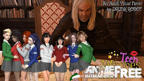 Картинка Teen Witches Academy [2019] [Uncen] [ADV, 3DCG] [Android Compatible] [ENG,RUS] H-Game