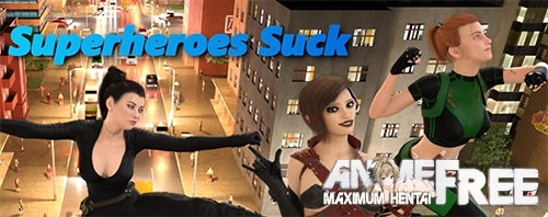 Картинка Superheroes Suck [2020] [Uncen] [ADV, 3DCG] [Android Compatible] [ENG] H-Game