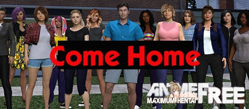 Картинка Come Home [2020] [Uncen] [ADV, 3DCG, Animation] [Android Compatible] [ENG,RUS] H-Game