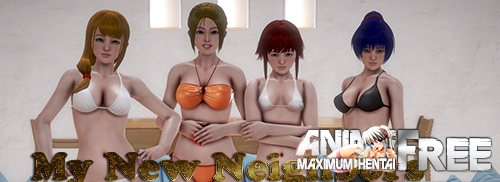 Картинка My New Neighbors [2020] [Uncen] [ADV, 3DCG, Animation] [ENG,RUS] H-Game