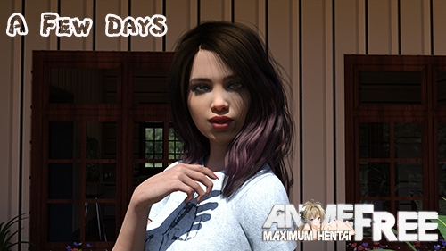 Картинка A Few Days [2020] [Uncen] [ADV, 3DCG, Animation] [Android Compatible] [ENG,RUS] H-Game