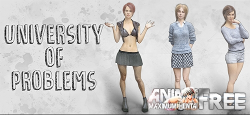 Картинка University of Problems [2020] [Uncen] [ADV, 3DCG, Animation] [Android Compatible] [ENG,RUS] H-Game