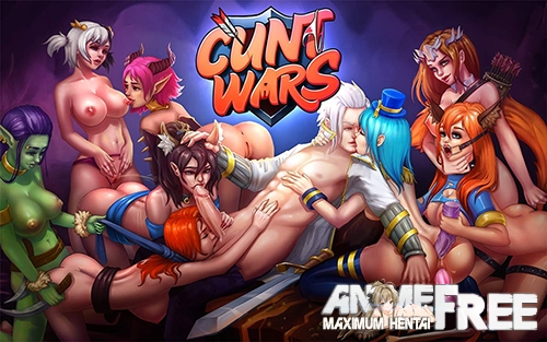 Картинка Lord of wet pussies / Cunt Wars / Повелитель мокрых кисок [2021] [Uncen] [ADV, TRPG, Animation] [ENG,RUS] H-Game