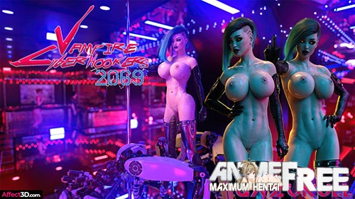 Картинка Vampire Cyberhookers 2069 [Uncen] [3DCG] [No-Text] Porn Comics