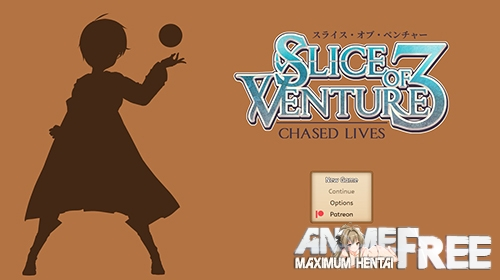 Картинка Slice of Venture 3: Chased Lives [2021] [Uncen] [ADV, RPG] [ENG] H-Game