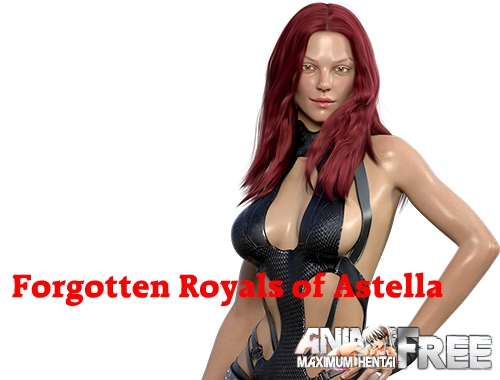Картинка Forgotten Royals of Astella [2020] [Uncen] [ADV, 3DCG, RPG] [ENG] H-Game
