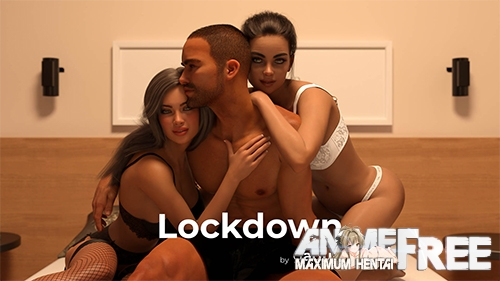 Картинка Lockdown [2021] [Uncen] [ADV, 3DCG, Animation] [Android Compatible] [ENG,RUS] H-Game