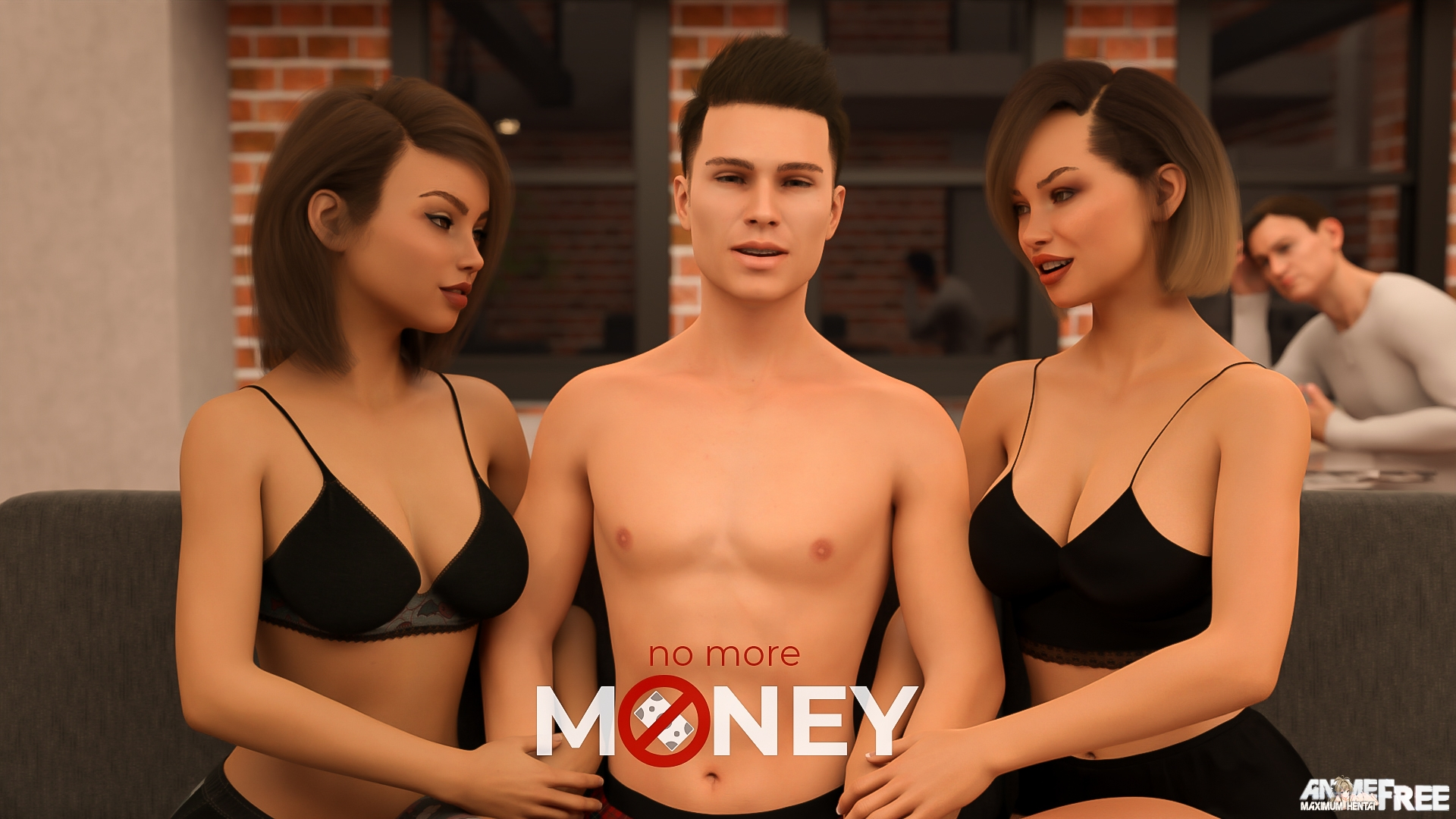 Картинка No More Money [2021] [Uncen] [ADV, 3DCG] [Android Compatible] [ENG,RUS] H-Game