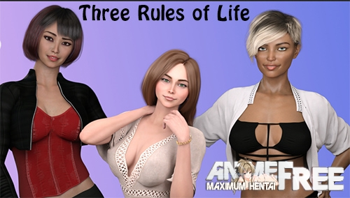 Картинка Three Rules of Life [2021] [Uncen] [ADV, 3DCG, Animation] [Android Compatible] [ENG,RUS] H-Game